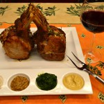 Christina Dodd's Pork Rack & Wine
