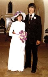 Christina Dodd Wedding Photo